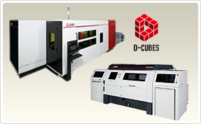 3D Laser Processing Machines Mitsubishi Electric's 3D laser cutting/welding systems pave the way to new laser applications. Our latest version of the VZ series is a result of many successive innovations, having the capabilities to deliver integrated solutions to 3D processing.