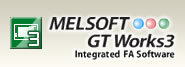 Software de engenharia : MELSOFT GT Works3