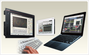 HMI software for the GOT2000 Series and GOT1000 Series.