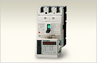 Molded Case Circuit Breakers with Measuring Display Unit