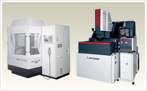 Die-sinking electrical discharge machine / Ample lineup corresponding to needs for fine high-accuracy machining to high-productivity with large electrode. Mitsubishi Electric helps to enhance productivity with total solutions covering machine, power supply, adaptive control, automation systems and networks.