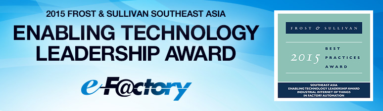 2015 FROST & SULLIVAN SOUTHEAST ASIA ENABLING TECHNOLOGY LEADERSHIP AWARD