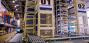 Photo: Automated warehouse