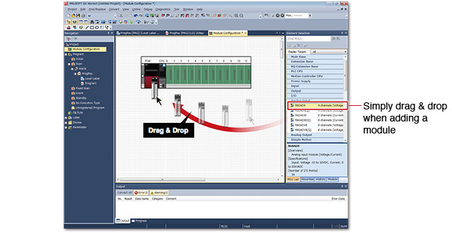 System design GX Works3 Features of the software Programmable