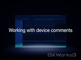 Working with device comments