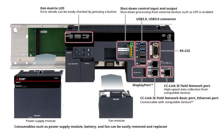 MELIPC MI5000 Product Features Industrial Computer MELIPC