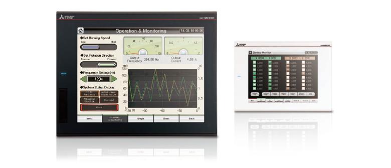 GT25 model GOT2000 Series Human-Machine Interfaces(HMIs)-GOT