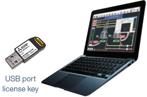 USB port license key