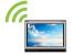 Support wireless LAN communication unit