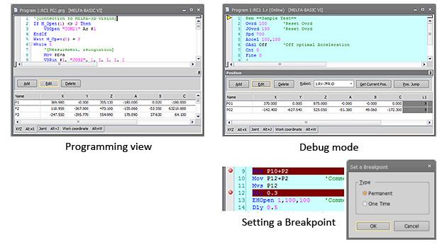 Simulation RT ToolBox3 Software Simulation Industrial Robots-MELFA