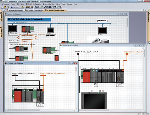 System management software MELSOFT Navigator