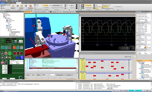Robot engineering software MELSOFT RT ToolBox2 mini