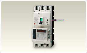 Earth Leakage Alarm Breakers with Measuring Display Unit