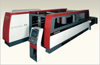NX series Mitsubishi's ever-evolving flagship model. Experience the dynamism of laser cutting.