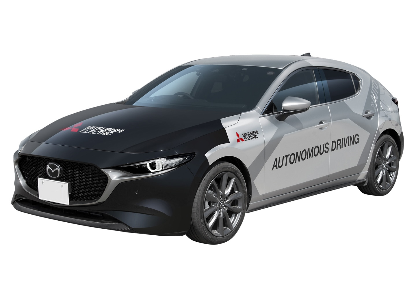 Mitsubishi Electric xAUTO autonomous-driving demonstration vehicle