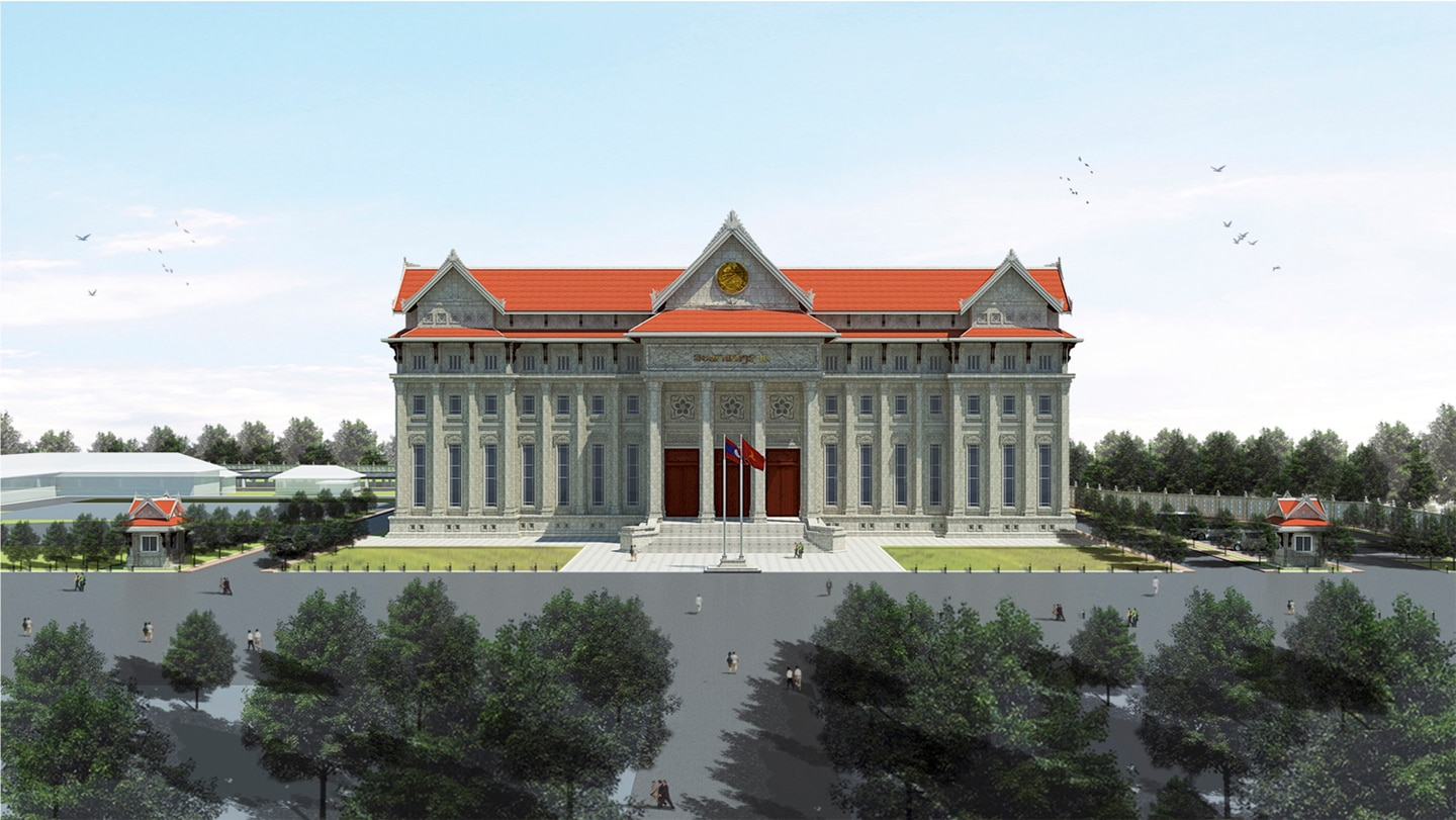 Rendering of New National Assembly