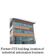 Former GTS building, location of industrial automation business