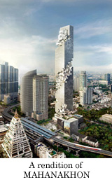 A rendition of MAHANAKHON