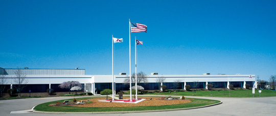 MEAA headquarters and plant in Mason, Ohio