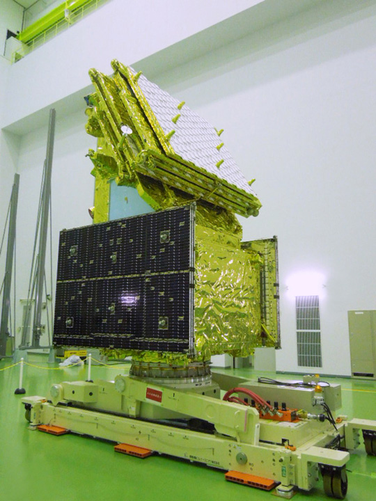 ALOS-2 at Tanegashima Space Center