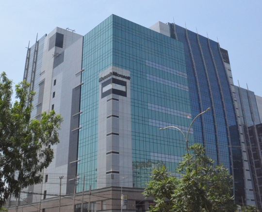 DLF building, location of Mitsubishi Electric India HQ