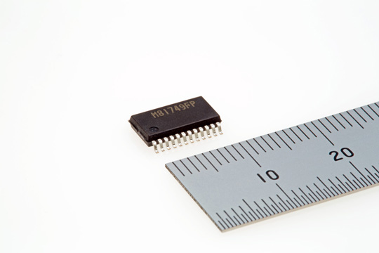 600V three-phase bridge driver IC (M81749FP)