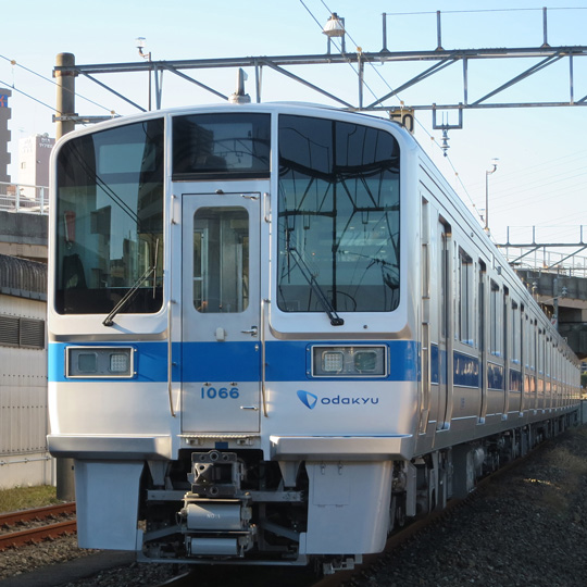Retrofitted Odakyu 1000 series train