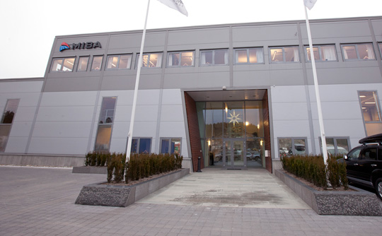 MIBA office in Ytre Enebakk, Norway