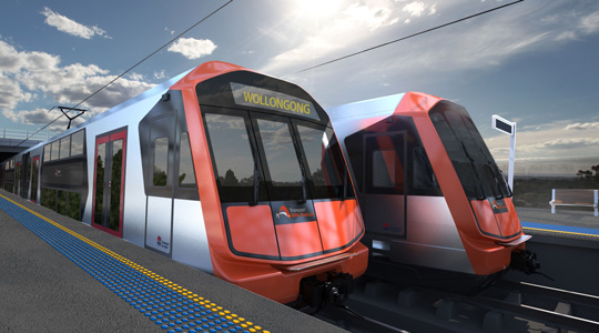 New Intercity Fleet (Courtesy of www.transport.nsw.gov.au)