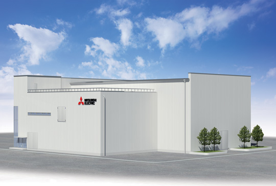 Rendition of Mitsubishi Electric's HVDC Verification Facility