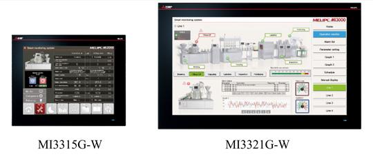 New MI3000 models in MELIPC series