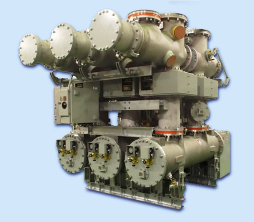 Gas-insulated switchgear