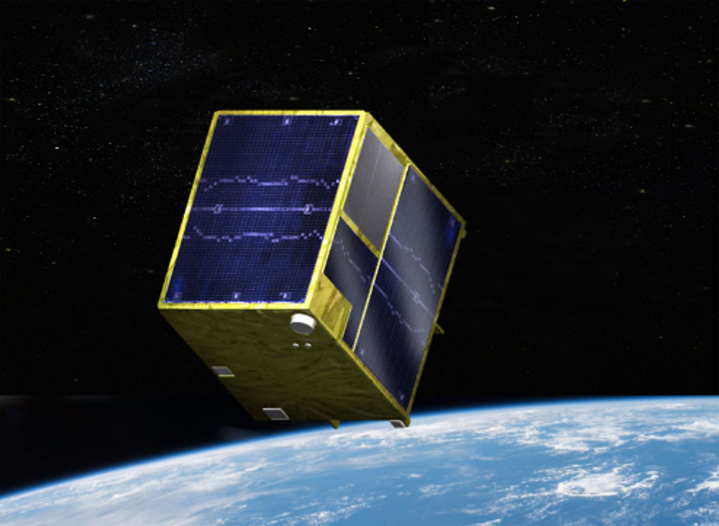 Rendition of the new satellite for Innovative Satellite Technology Demonstration